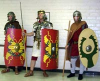 Three Roman Legionaries At ACCLA