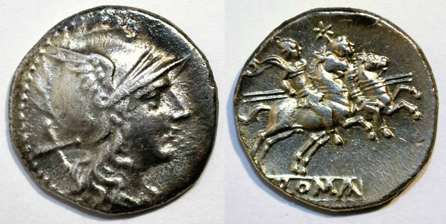 Anonymous Denarius after 211 BCE