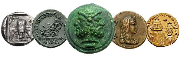 ACCLA Color Banner of 5 Coins
