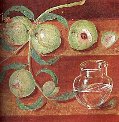 Peaches and Jar, Herculaneum