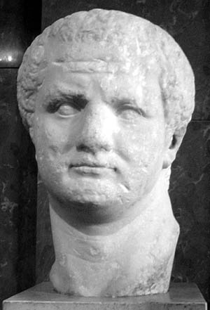 Louvre bust of Emperor Titus